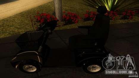 Elektroscooter - Speedy para GTA San Andreas vista direita