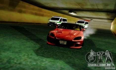 Honda S2000 JDM Tuning para vista lateral GTA San Andreas