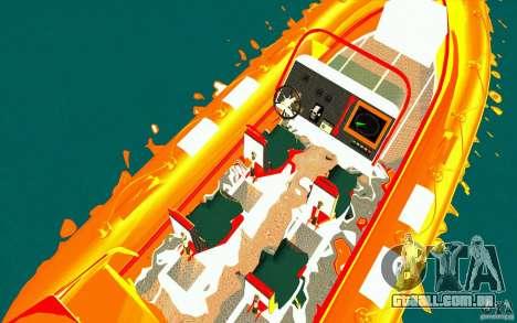 Inferno orange para GTA San Andreas vista direita