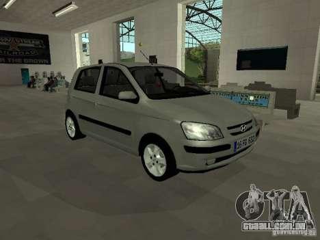 Hyundai Getz para GTA San Andreas
