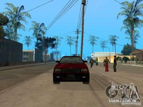 Blista From GTA IV para GTA San Andreas esquerda vista