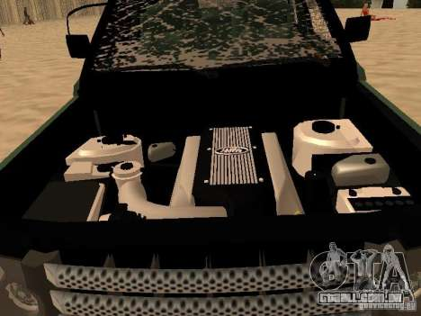 Land Rover Range Rover Sport para vista lateral GTA San Andreas