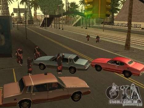 The Akatsuki gang para GTA San Andreas segunda tela