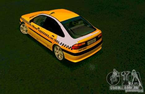 Renault Megane Taksi para GTA San Andreas esquerda vista
