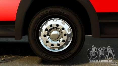Mercedes-Benz Atego FPTGP Sapeurs Pompiers ELS para GTA 4 vista de volta