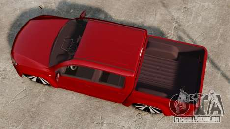 Volkswagen Amarok 2.0 TDi AWD Trendline 2012 para GTA 4 vista direita