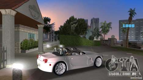 BMW Z4 2004 para GTA Vice City vista direita
