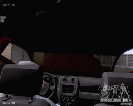 Dreno de 2190 VAZ para vista lateral GTA San Andreas