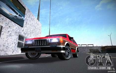 Luzes do HD para GTA San Andreas segunda tela