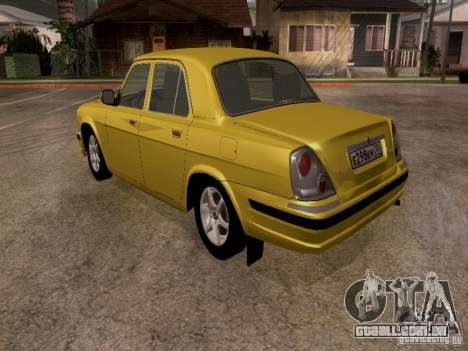 GAZ Volga 31107 para GTA San Andreas vista direita