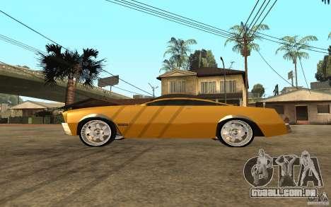 MGC Phantom para GTA San Andreas esquerda vista