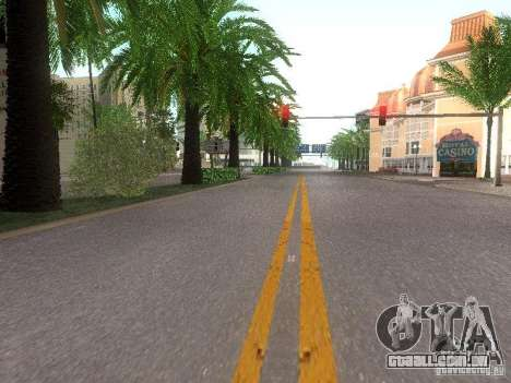 Modification Of The Road para GTA San Andreas quinto tela