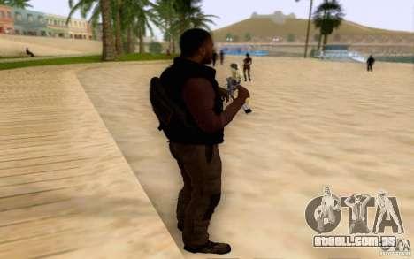 Salazar na civil para GTA San Andreas segunda tela