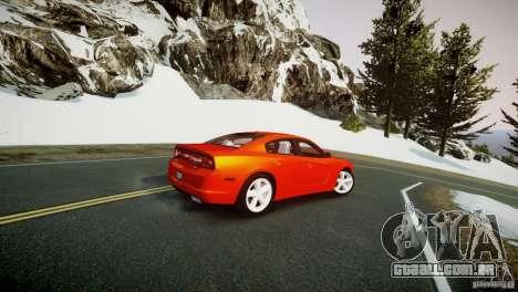 Dodge Charger R/T 2011 Max para GTA 4 esquerda vista
