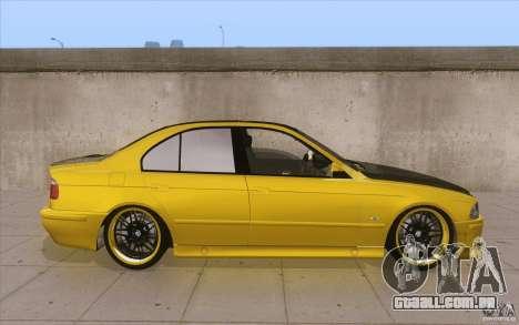 BMW M5 E39 - FnF4 para GTA San Andreas vista interior