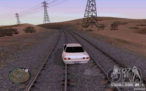 Rails russos para GTA San Andreas sétima tela