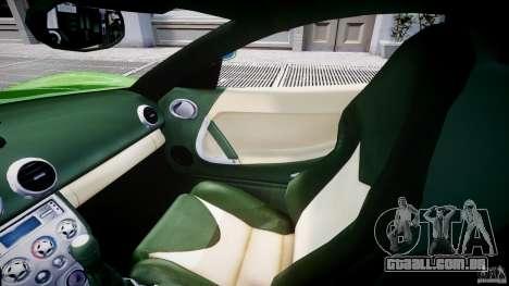 Ascari KZ-1 para GTA 4 vista interior