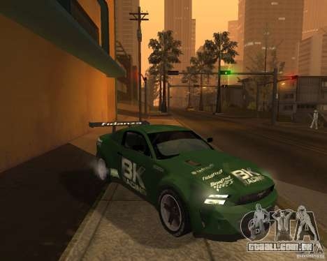 Ford Mustang GT-R 2010 para GTA San Andreas vista direita