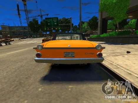 Dodge Dart para GTA 4 traseira esquerda vista
