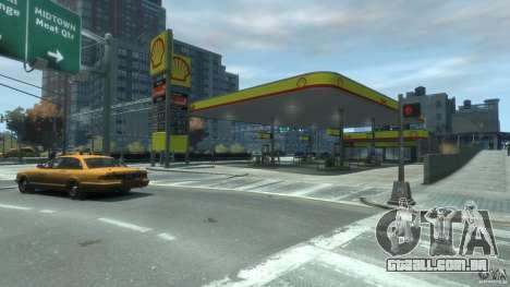 Shell Petrol Station V2 Updated para GTA 4 segundo screenshot