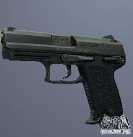 Um conjunto de armas do perseguidor V3 para GTA San Andreas oitavo tela