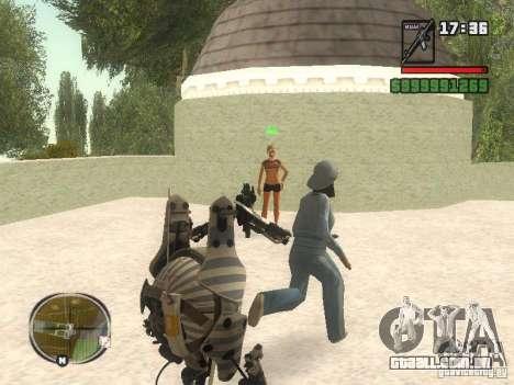 Robô de Portal 2 # 1 para GTA San Andreas por diante tela