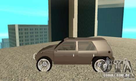 Jemala para GTA San Andreas esquerda vista