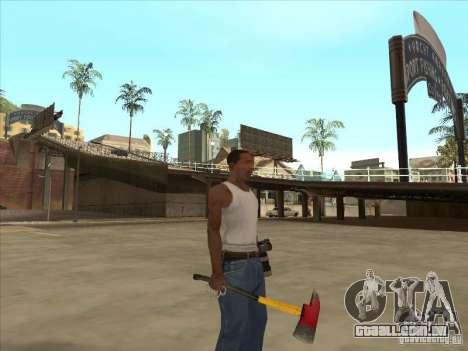 Um machado do Killing Floor para GTA San Andreas segunda tela