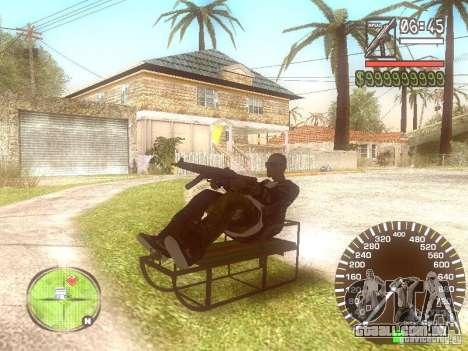 Sani para GTA San Andreas vista traseira