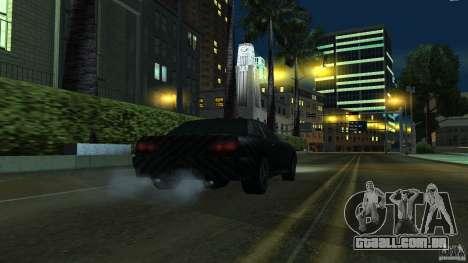 Elegy Carbon Style V 1.00 para GTA San Andreas traseira esquerda vista