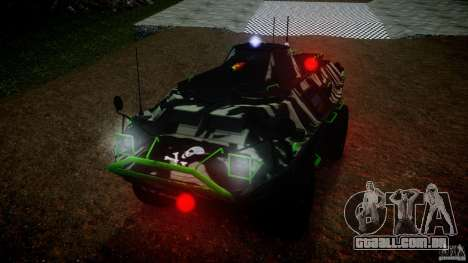 Monster APC para GTA 4 vista direita