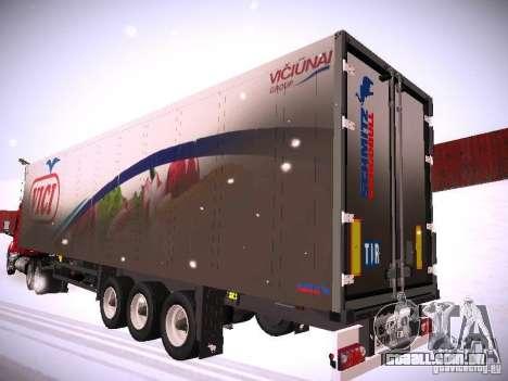 Trailer de DAF XF105 para GTA San Andreas
