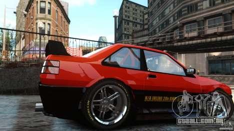 Futo GTRS para GTA 4 traseira esquerda vista