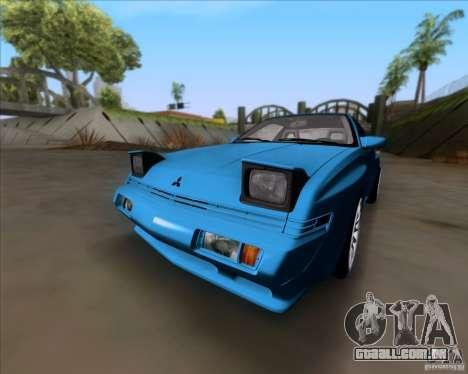 Mitsubishi Starion para GTA San Andreas esquerda vista