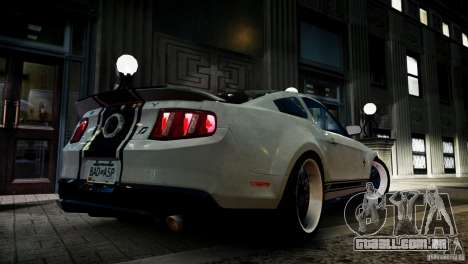 Shelby GT500 Super Snake NFS Edition para GTA 4