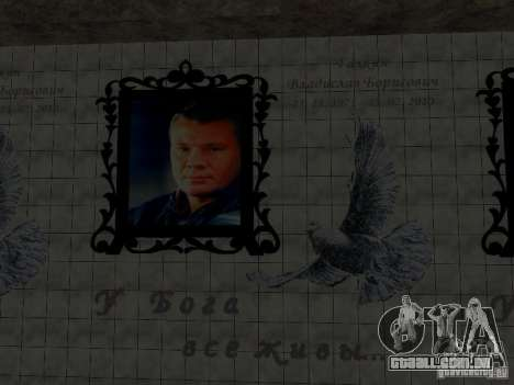 Monumento de Vladislav Galkin para GTA San Andreas segunda tela