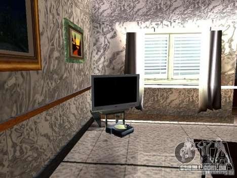 TV nova para GTA San Andreas segunda tela
