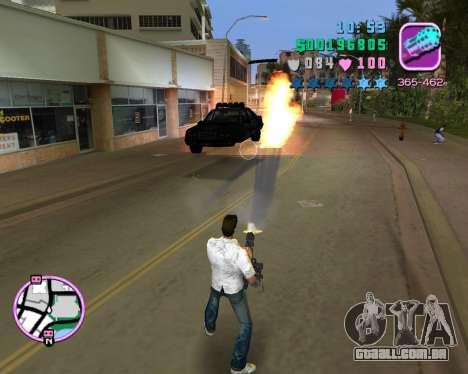 Camisa branca para GTA Vice City quinto tela