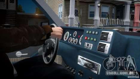 Lancia Delta HF Integrale para GTA 4 vista de volta