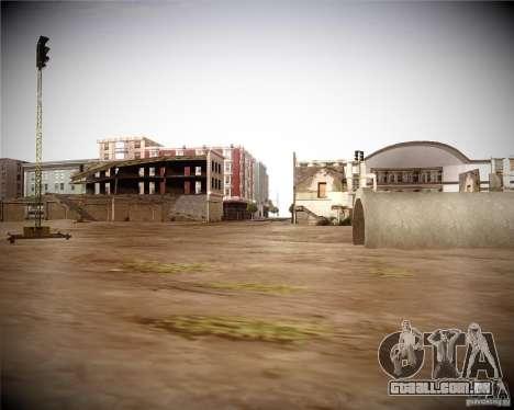 Uma coleção de mods de gráficos para GTA San Andreas terceira tela