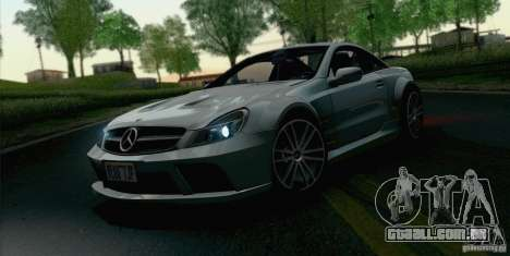 Mercedes-Benz SL65 AMG Black Series para GTA San Andreas vista direita