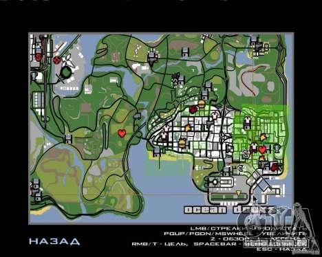 Piloto de emprego para GTA San Andreas sexta tela