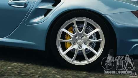 Porsche 997 GT2 para GTA 4 vista lateral