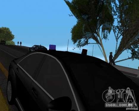 Emergency Lights para GTA San Andreas terceira tela