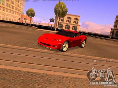 Chevrolet Corvette Z06 para GTA San Andreas