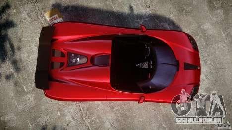 Koenigsegg CCXR Edition para GTA 4 vista direita