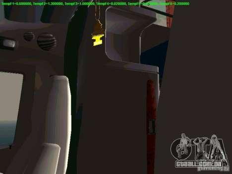 Peterbilt 387 para GTA San Andreas vista superior