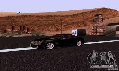 Mercedes-Benz SL65 para GTA San Andreas esquerda vista
