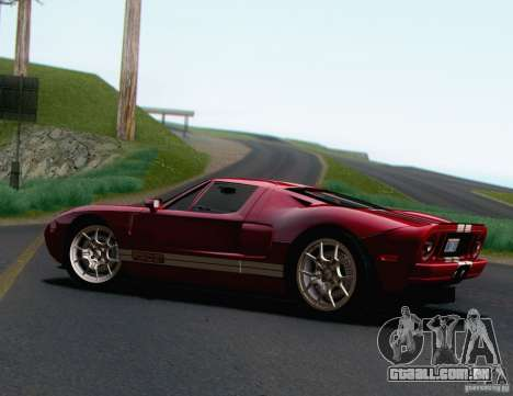 Ford GT 2005 para GTA San Andreas esquerda vista