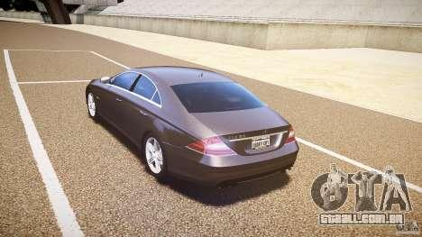 Mercedes-Benz CLS 63 para GTA 4 vista direita